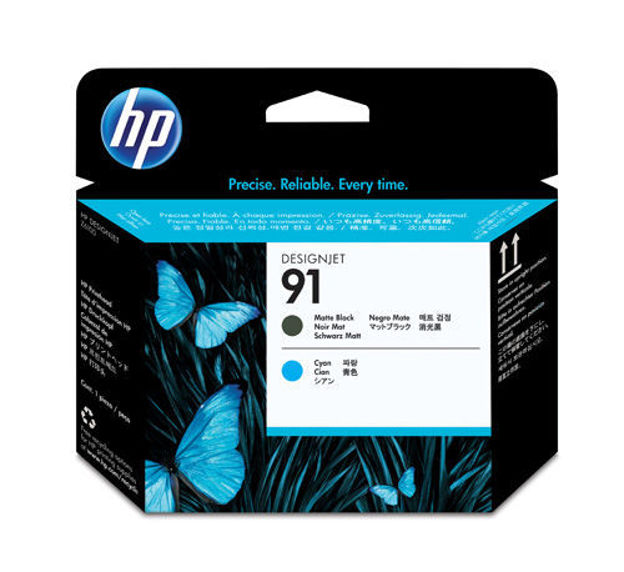 Picture of HP-C9460A Matte Black & Cyan