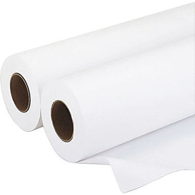 "Picture of 24""x300' 20lb. 92 bright white bond paper"