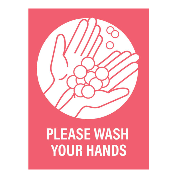 Picture of Covid-19 Paper Posters Wash Your Hands