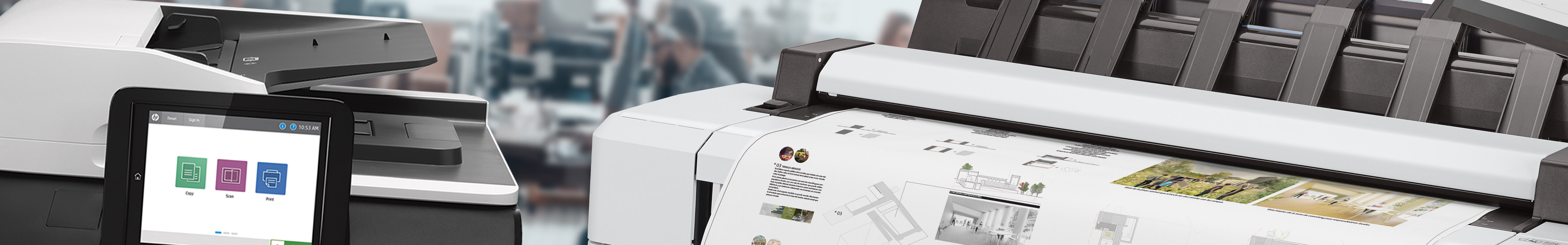 Wide and Small Format Printers